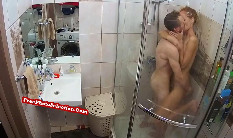 Hidden Shower Sex